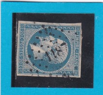 N° 14 A    PC 1187     EPINAL  /  ( 82 )   VOSGES   Planché    - LOT JC - 1853-1860 Napoléon III