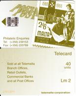 MALTA - Stamp, Posta, Philatelic Enquiries, CN : C78113099, 08/97, Used - Malte