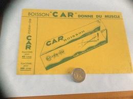 Buvard «BOISSON CAR - LA RÉGLISSERIE - MOUSSAC (31)» - Vloeipapier