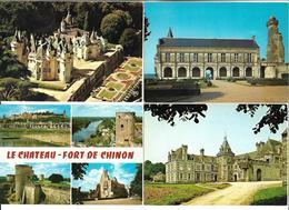 LOT  De  700  CPSM  Et  CPM   De  France  Sur  Le  Thème  Des  CHATEAUX   //   TBE - Postcards
