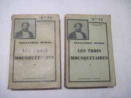 ALEXANDRE DUMAS LES TROIS MOUSQUETAIRES- 2 Tomes En 2 Volumes BE Voir - Books, Magazines, Comics