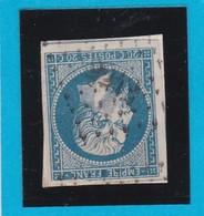 N° 14 A    PC 2242     NEUFCHATEAU  /  ( 82 )   VOSGES   Planché    - LOT JC  Sur Fragment - 1853-1860 Napoleon III