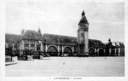 Cpa (17)- La Rochelle - La  Gare. - La Rochelle