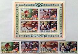 # Uganda 1980** Mi.278-85 Summer Olympics, Moscow , MNH  [20;8] - Summer 1980: Moscow