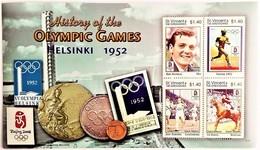 # St.Vincent 2008**Mi.6431-34  Summer Olympics , Helsinki (1952) , MNH [11;176] - Sommer 1952: Helsinki