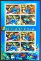 # Micronesia 2009** Mi.2052-55 Fish, MNH WWF [26;85] - Colecciones & Series