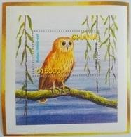 Ghana 2002** Mi.Bl. 442. Fishing Owl, MNH [3;66] - Owls