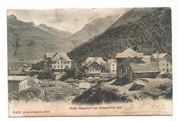 OLD POSTCARD HOTEL MEYERHOF VON HOSPENTHAL AUS , 1912 . - UR Uri