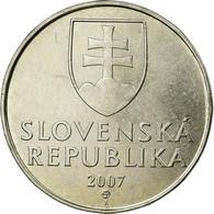 Monnaie, Slovaquie, 2 Koruna, 2007, TTB, Nickel Plated Steel, KM:13 - Eslovaquia