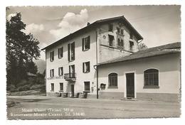 CARTOLINA CON RISTORANTE MONTE CENERI ( MONTE CENERI - TICINO ) , 1950 . - TI Ticino
