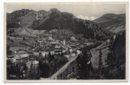1931 YUGOSLAVIA, SLOVENIA, TRZIC, TPO TRZIC-LJUBLJANA NO 7O, ILLUSTRATED POSTCARD, USED - Yugoslavia
