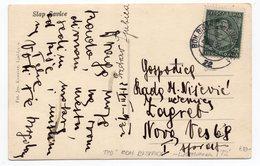 1938 YUGOSLAVIA, SLOVENIA, SAVICA WATERFALL, TPO BOH. BISTRICA-LJUBLJANA NO 72, ILLUSTRATED POSTCARD, USED - Yugoslavia