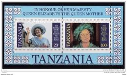 Tanzania Blok Nr 40b **, Zeer Mooi Lot Krt 3661 - Collections (sans Albums)