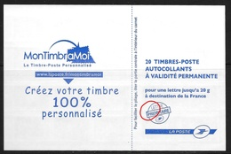 Beaujard Yv 4197 C7a Pho Ec Variété Couverture B) - Libretti