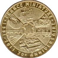 78 ÉLANCOURT FRANCE MINIATURE N°2 NOTRE DAME ETC MÉDAILLE ARTHUS BERTRAND 2011 JETON TOKEN MEDALS COINS - Arthus Bertrand