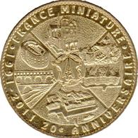78 ÉLANCOURT FRANCE MINIATURE N°2 NOTRE DAME ETC MÉDAILLE ARTHUS BERTRAND 2011 JETON TOURISTIQUE TOKEN MEDALS COINS - 2011