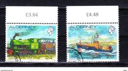 Alderney 1993 Nr 59/60 G, Zeer Mooi Lot K 492 - Alderney