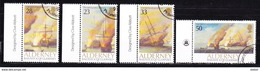 Alderney 1991 Nr 55/58 G, Zeer Mooi Lot K 490 - Alderney