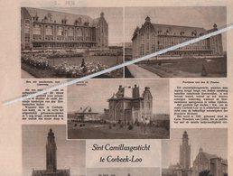 SINT.CAMILLUSGESTICHT TE CORBEEK-LOO..1936.. - Vecchi Documenti