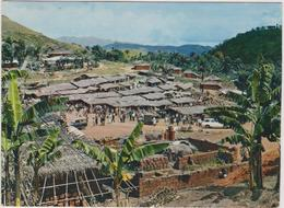 Cameroun  Village Bamileke  Carte  Ecris De Daoule - Cameroon
