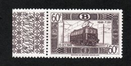 BELGIE 1949 SP / 321A NIEUW NEUF POSTFRIS FRAICHEUR POSTALE  MNH ** - Railway