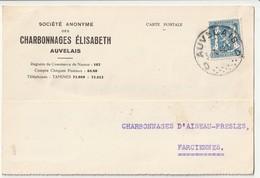 Auvelais 1942 - 1935-1949 Petit Sceau De L'Etat