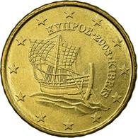 Monnaie, Chypre, 10 Euro Cent, 2008, SUP, Laiton, KM:81 - Chypre