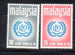 APR1234 - MALAYSIA MALESIA 1970 , Serie Yvert N. 66/67  ***  MNH  Ilo - Malaysia (1964-...)