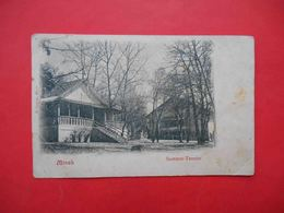 Minsk Belarus 1900-th Summer Theater. Russian Postcard - Belarus