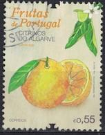 Portugal 2015 Oblitéré Used Frutas Fruits Citrinos Agrumes Algarve Citrus Spp. SU - 1910-... République