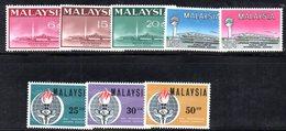 APR1235 - MALAYSIA MALESIA , Tre Serie Integre  ***  MNH - Malaysia (1964-...)
