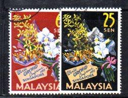 APR1236 - MALAYSIA MALESIA , Serie 4/5  Usata - Malaysia (1964-...)