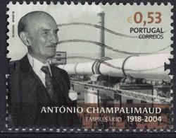 Portugal 2018 Oblitéré Used Businessman António Champalimaud Banquier Et Industriel SU - 1910-... République