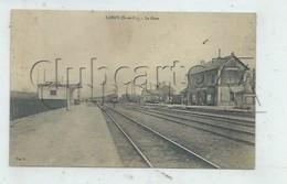 Lardy (91) : L'entrée Du Train En Gare Pris Des Quais Environ 1910 (animé) PF. - Lardy