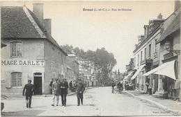 Lot De 20 CPA De FRANCE, La Plupart Animées Et Ayant Circulé Entre 1905 Et 1922. BE. Toutes Scanées. - 5 - 99 Postcards