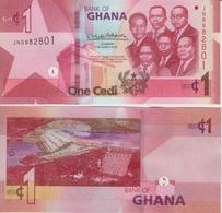 GHANA 1 Cedi 2019 P 45  UNC - Ghana