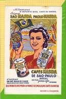 BUVARD & Blotting Paper : Cafés MASDA PAOLO Bresil - Café & Thé