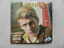D4663 Disque Vinyle 45 Trs CHRISTOPHE LES MARIONNETTES - Disco, Pop