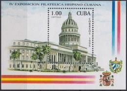1995.259 CUBA MNH 1995 MNH Ed.4034 HF EXPO FILATELICA ESPAÑA, CAPITOLIO. - Non Dentellati, Prove E Varietà