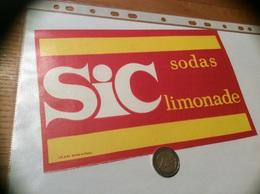 Buvard «SIC - Sodas Limonade» - Limonate