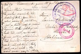 Serbia Nis / WWI1CENSORSHIP - ZENSUR  / Zensur Red Cross / Prisoner Of War. POW Mail - Serbia