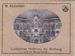 Fotomappe Lustschloss Hellbrunn Bei Salzburg Und Die Wasserkünste - 12 Fotos - 11*8cm (41268) - Orte