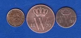 1/2  Cents  1829  +  2  Pieces - [ 3] 1815-… : Royaume Des Pays-Bas