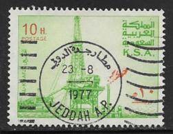 Saudi Arabia Scott # 732 Used Oil Rig,1976-80 - Arabia Saudita