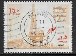 Saudi Arabia Scott # 733 Used Oil Rig,1976-80 - Arabia Saudita