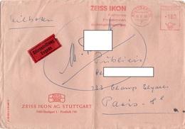 LSC 1965 - EMA - ZEISS IKON - Kameras Proctoren Schmalfimgerate / Cachet STUTTGART Divers Cachets Au Dos - [7] République Fédérale