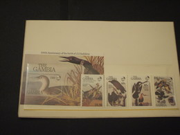 GAMBIA - 1985 UCCELLI 4 VALORI + BF - NUOVI(++) - Gambia (1965-...)