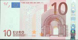 10 Euros De La Segunda Firma DeTrichet Plancha N033D6, Letra Y18475685092,sc/plancha/UNCIRCULATED - EURO