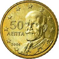 Grèce, 50 Euro Cent, 2006, TB+, Laiton, KM:186 - Grèce