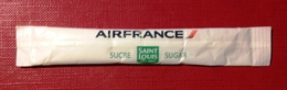 Sugar Bag, Full- Air France. Sugar Sint Louis. RECTO - Zucchero (bustine)